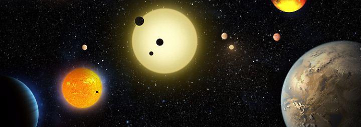 Suche nach zweiter Erde: Weltraum-Auge Kepler erspäht 1284 neue Welten