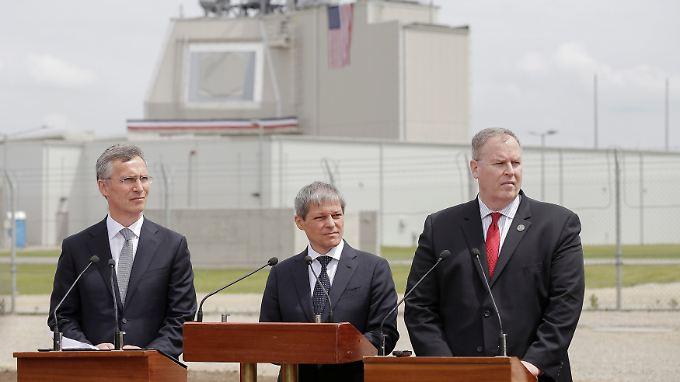 Warnungen aus dem Kreml: Nato weiht Raketenabwehrsystem in Rumänien ein