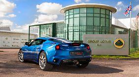 Essex Blue ist eine von drei Außenfarben, die Lotus für den Evora 400 Hethel-Edition anbietet.