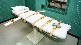 Rückschlag für Todesstrafe in USA: Pharmariese Pfizer erklärt das Aus für Giftspritzen