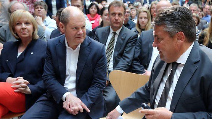 Absage an Gabriel: Olaf Scholz lehnt Kampf um Kanzlerkandidatur ab