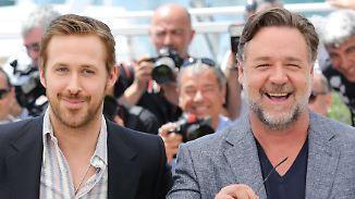 """""""Nice Guys"""" in Cannes: Ryan Gosling und Russell Crowe frotzeln auf und abseits der Leinwand"""
