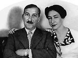 Zweig mit seiner zweiten Frau Lotte, etwa 1940.