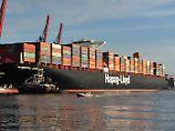 Frachtraten steigen wieder: Hapag-Lloyd sieht Ende der Container-Krise