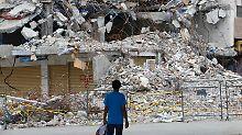 Dutzende Verletze, ein Toter: Erde in Ecuador bebt wieder