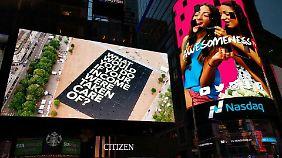 Der Weltrekord wurde sogar in New York gezeigt.