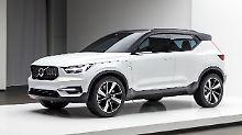 40.1 nennt Volvo seine Studie, die nah an einem künftigen XC40 ist.