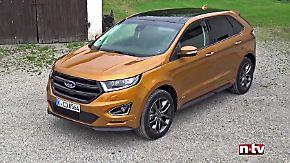 Das neue Flaggschiff: Ford Edge - Zum Reisen geschaffen