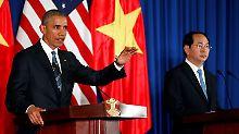 Hanoi darf wieder Waffen einführen: USA heben Embargo gegen Vietnam auf