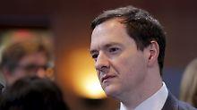 """""""Sofortiger und heftiger Schock"""": Osborne findet Brexit schrecklich"""