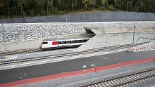 """Rekordhalter St. Gotthard: Ein Tunnel als """"Jahrhundertbauwerk"""""""