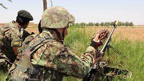 Afghanische Soldaten.