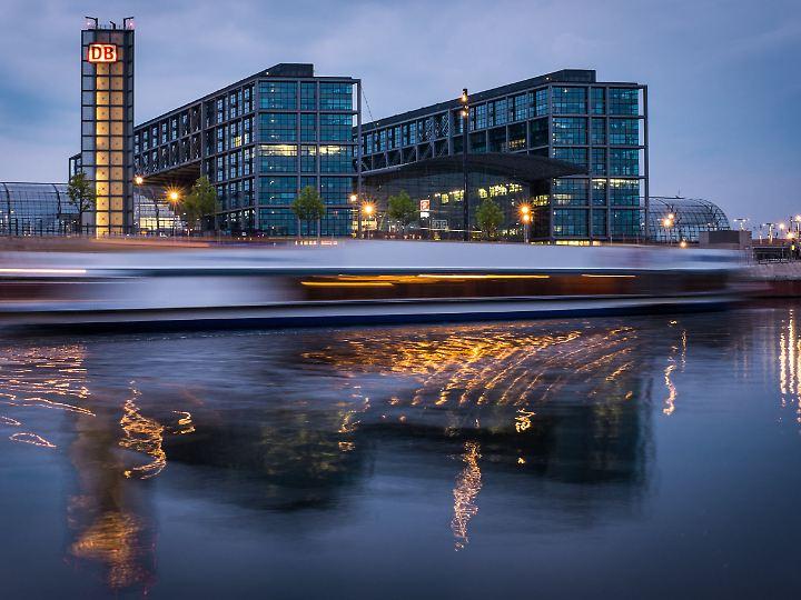 Prestigeobjekt der Bahn: Der Hauptbahnhof in Berlin feiert derzeit seinen 10. Geburtstag.