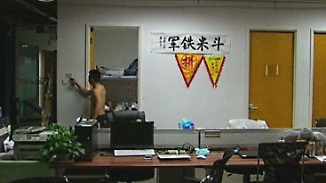 Schlafen im Büro: Chinas Start-ups verlangen ihren Angestellten alles ab