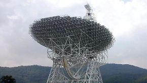 Tal der Ahnungslosen in den USA: Wie ein Super-Teleskop für Funkstille sorgt