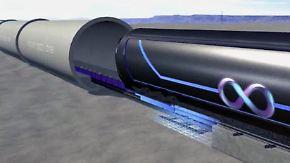 n-tv Ratgeber: Reisen der Zukunft: Im Hyperloop mit 1220 km/h von A nach B