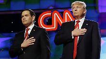 Gemeinsam gegen Hillary Clinton: Marco Rubio unterstützt jetzt Trump
