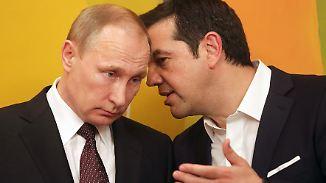 Ausbau der wirtschaftlichen Kooperation: Putin trifft Tsipras in Athen