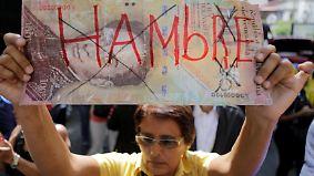 Plünderungen und Hungersnot: Venezuela droht gesellschaftlicher Kollaps