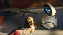 Asus zeigt Haushaltshelfer Zenbo: Süßer Roboter wird zum Familienmitglied