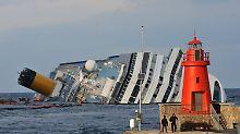 Unglückstag oder alles nur Zufall?: Am Freitag, dem 13., kentert Costa Concordia