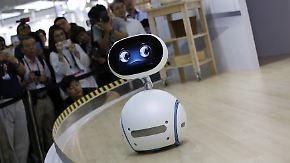 Kugeldroide zum Preis eines iPhones: Asus präsentiert süßen Robo-Haushaltshelfer