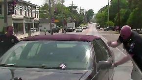 Kaum zu glauben, aber wahr: Nicht mehr ganz so rüstige Autofahrerin landet Glückstreffer