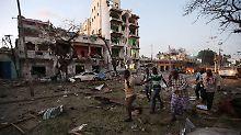 Alle Attentäter sind tot: Somalische Armee beendet Hotel-Belagerung