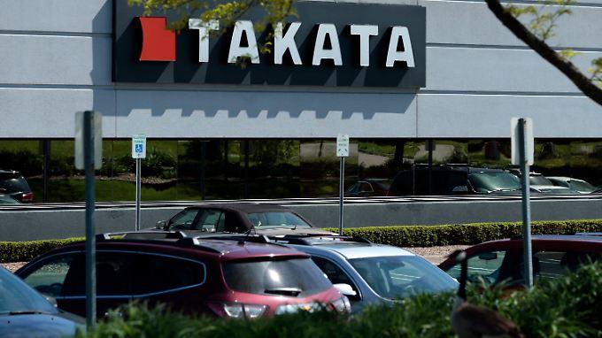 Der japanische Airbag-Hersteller wird offenbar in der kommenden Woche einen Insolvenzantrag stellen.