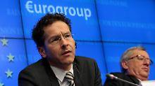 """""""Weil es Frankreich ist"""": Dijsselbloem kritisiert Juncker für Nachsicht"""