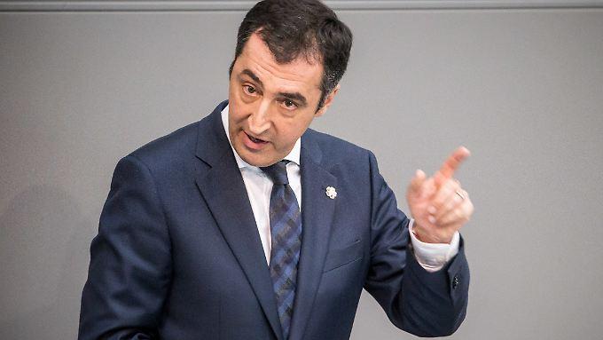 Bezieht klar Stellung in der Völkermord-Debatte: Cem Özdemir.