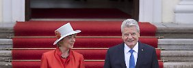 """Reaktionen zu Gauck-Entscheidung: """"Er war und ist ein großer Präsident"""""""