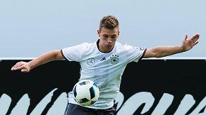 Die DFB-Spieler im Porträt: Joshua Kimmich, Mittelfeld