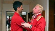 """""""Werde für ihn da sein"""": Djokovic bietet Boris Becker Hilfe an"""