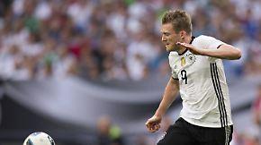 Die DFB-Spieler im Porträt: André Schürrle, Mittelfeld