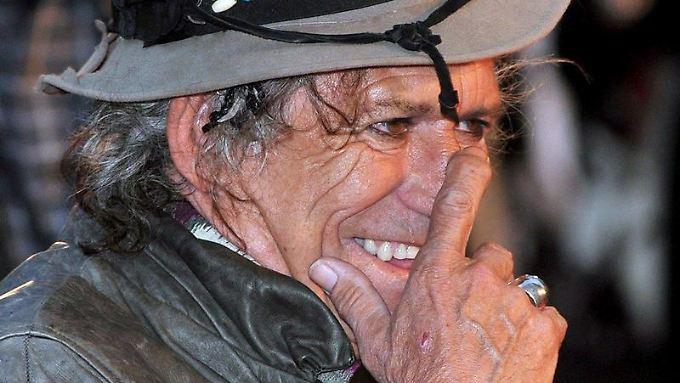 Hat viel zu erzählen: Keith Richards.