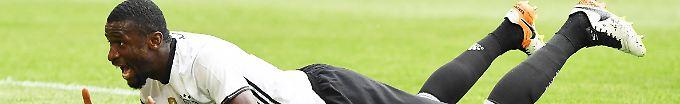 Rüdiger ist nun als Fan dabei.