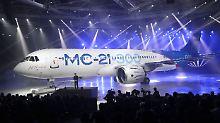 """Stolz der russischen Luftfahrt"": Russland stellt neuen Passagierjet vor"