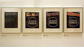 """Nach dem Anschlag auf """"Charlie Hebdo"""" demonstrierten die vier wichtigsten türkischen Satire-Zeitschriften ihre Solidarität mit den französischen Kollegen."""