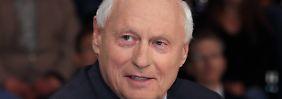 Oskar Lafontaine wirbt vehement für einen gemeinsamen rot-rot-grünen Kandidaten.