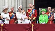 """Trooping the Colour"" in London: Das bunte Geburtstagsspektakel der Queen"