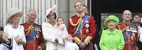 """Trooping the Colour"" in London: Das bunte Geburtstagsspektakel der Queen"