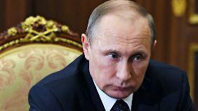 Wie Putin auf die Ankündigung reagiert, ist noch nicht klar.