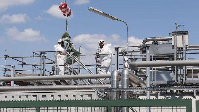 In Langwedel begann die Erdgasförderung Anfang der 1990er-Jahre.