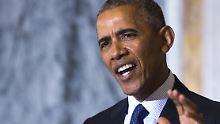 Barack Obama hat die Nase voll - von den Auslassungen von Donald Trump.