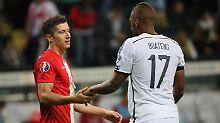 Boateng vs. Lewandowski: Ziemlich beste - ja was eigentlich?