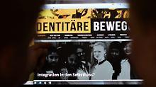 Im Visier der Verfassungsschützer: AfD-Rechte fordern Bekenntnis zu Identitären