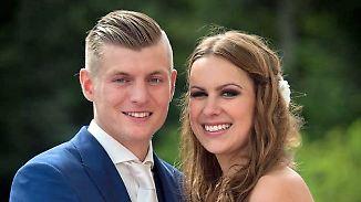 Erstes Hochzeitsfoto für Öffentlichkeit: Toni Kroos postet Liebeserklärung