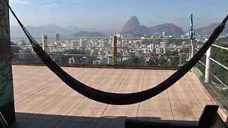 Olympische Spiele in Brasilien: Favela-Hostels bieten günstige Übernachtungsmöglichkeiten