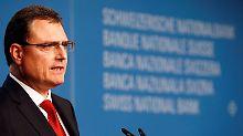 """SNB-Chef Thomas Jordan: """"Jede Zentralbank muss über ihre eigenen Maßnahmen entscheiden."""""""
